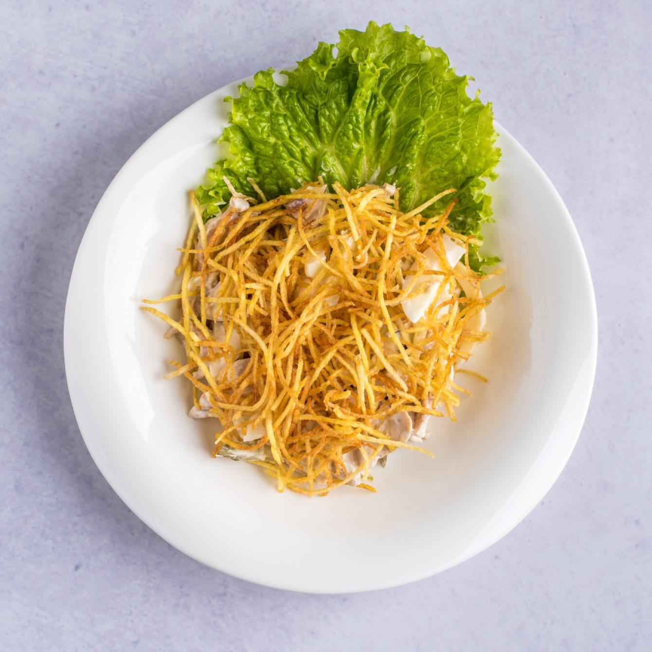 Салат картофельный с курицей рецепт